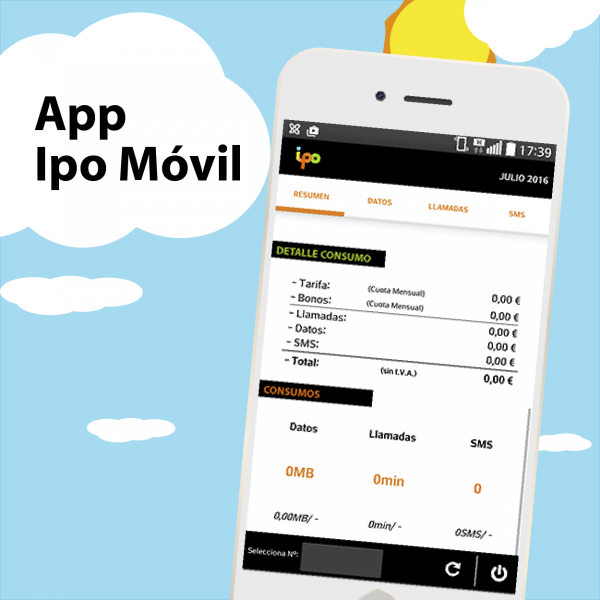02c456ca54b Con la app Ipo Móvil tendrás controlado tu consumo