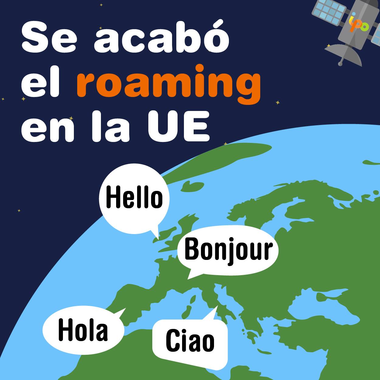 ipo networks - se acabó el roaming en la Unión Europea